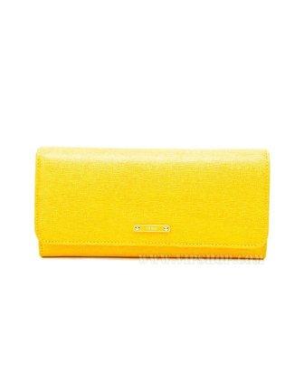国际速递-fendifendi 女款长款钱包黄色8m0251-f09