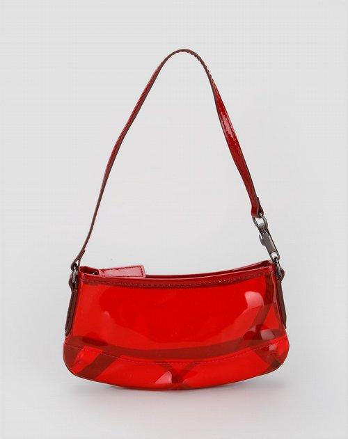 巴宝莉burberry女款红色时尚手拎包