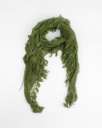 斯密达simida围巾专场墨绿色网状弹性围巾wj-11354