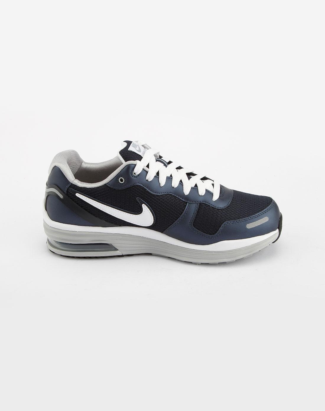 深蓝/白色气垫运动鞋_耐克nike-男鞋专场特价