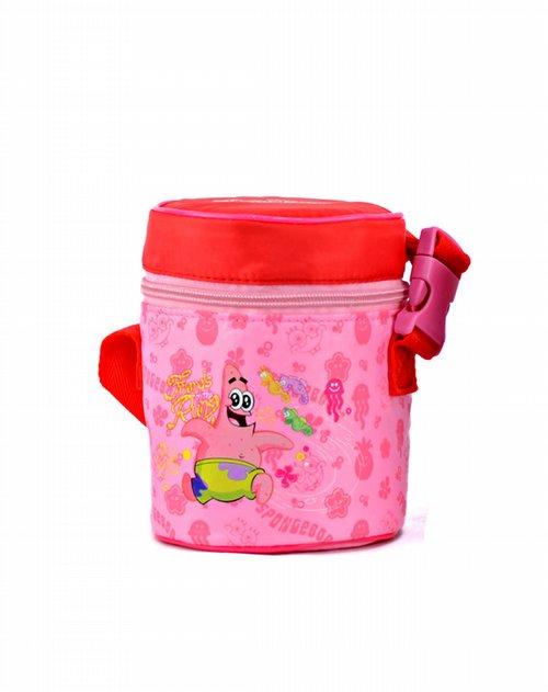 海绵宝宝儿童用品专场320ml乐享焖烧保湿壶红色