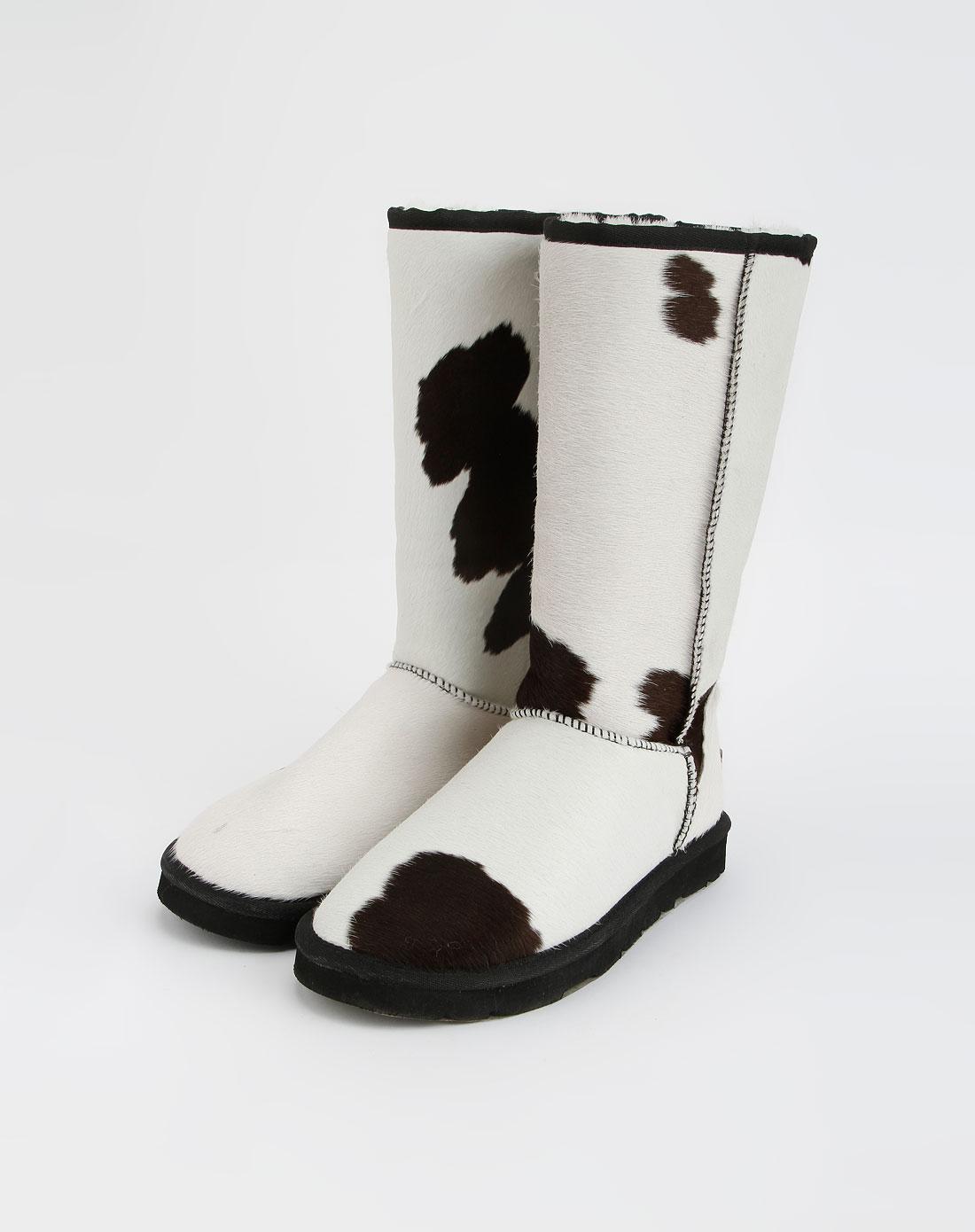 尚平底长筒雪地靴