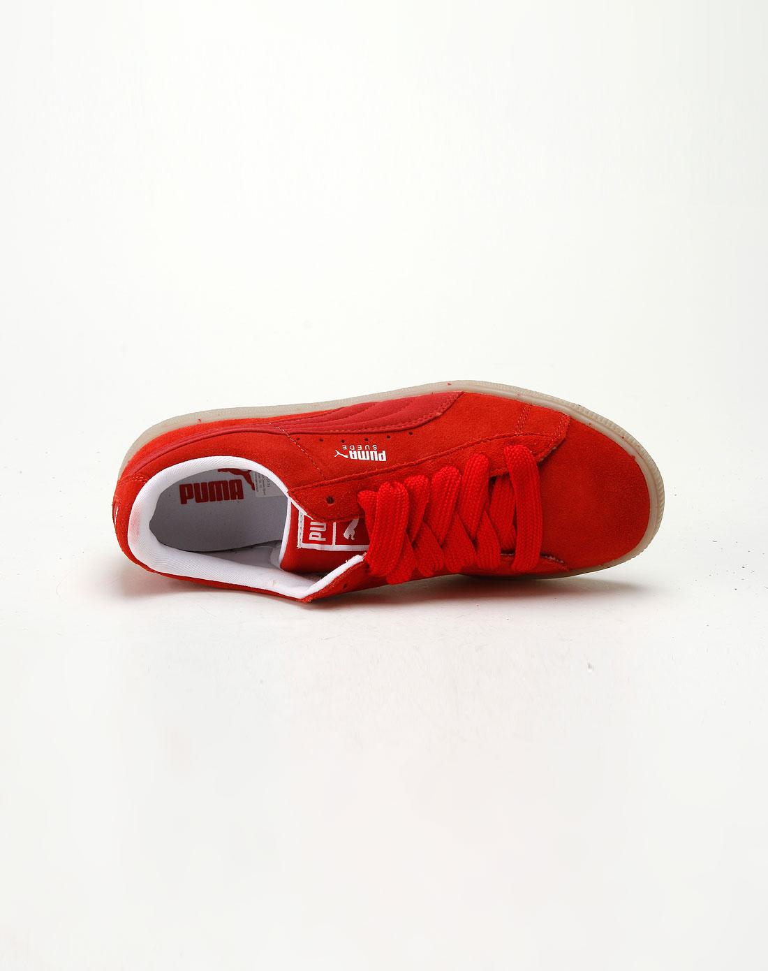 彪马puma亮红/缎带红色绑带休闲鞋35079802