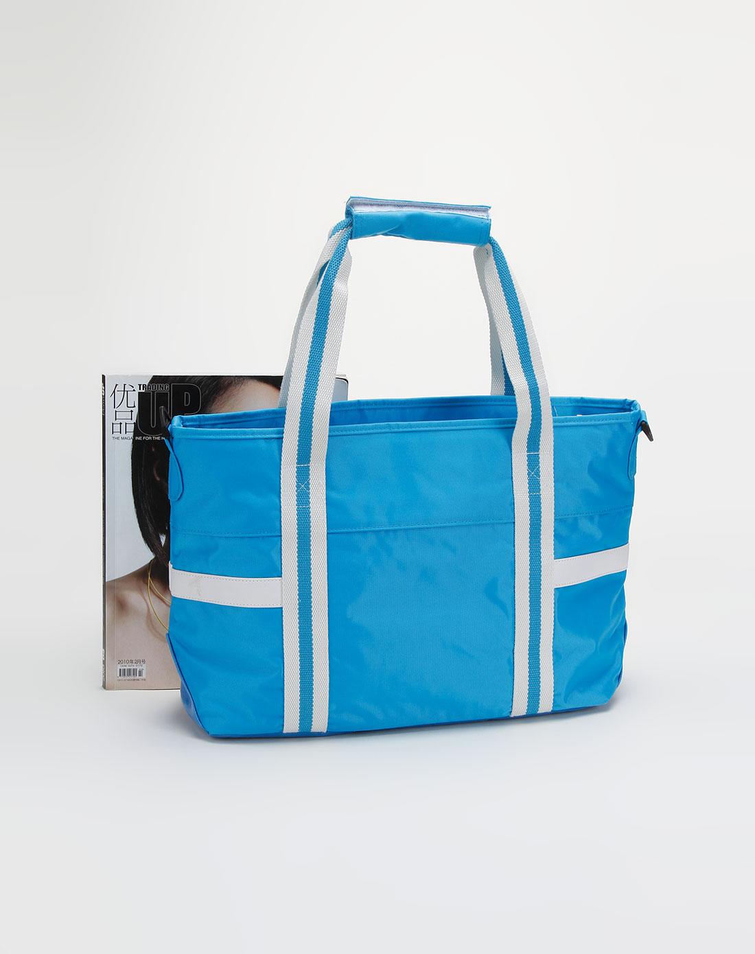 national蓝色时尚休闲手提包