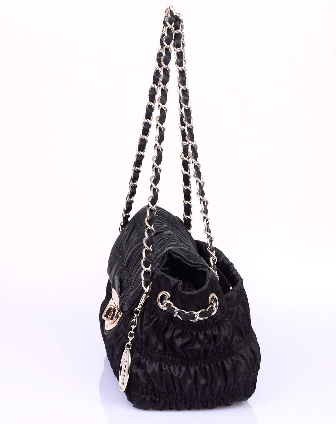 丽天妮leonie女款黑色手袋