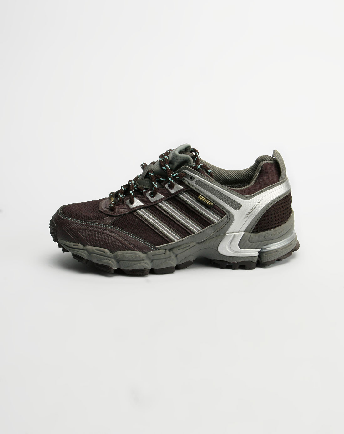 阿迪达斯adidas女装女款紫罗兰/灰色运动鞋