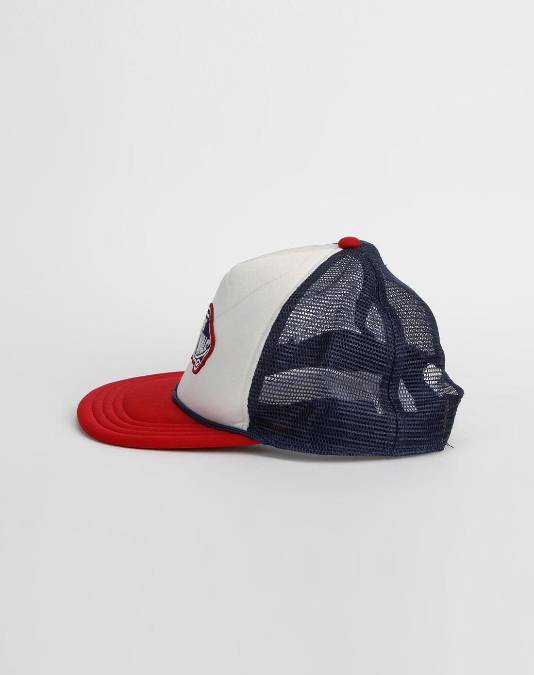 万斯vans男女男款红/蓝色鸭舌帽vn-0h2vrdb
