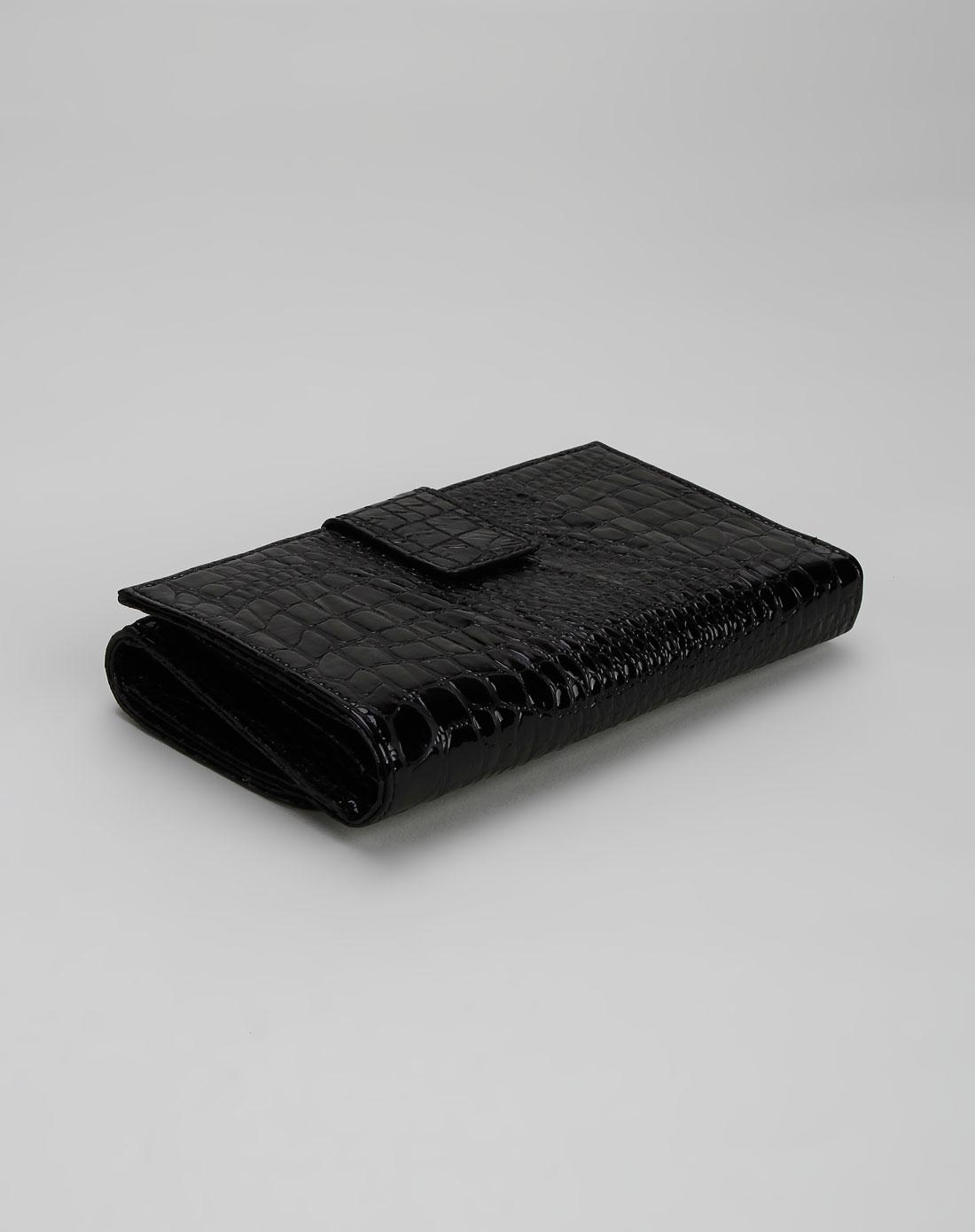 guess女款黑色时尚钱包swpa3250450b