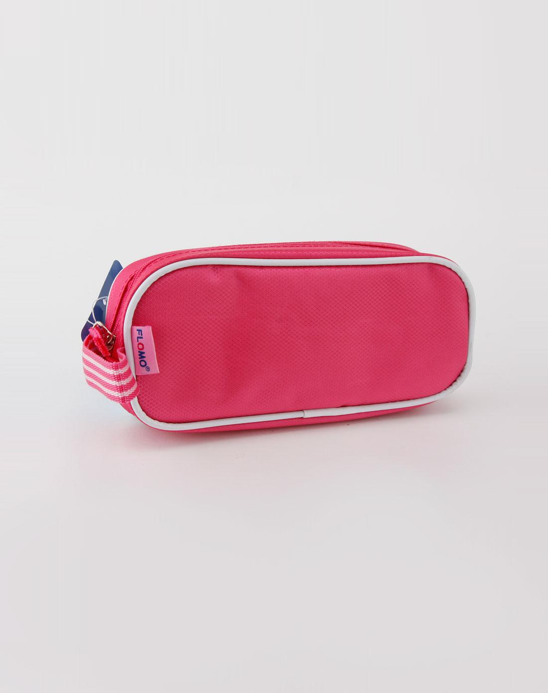 米奇玫红色笔袋