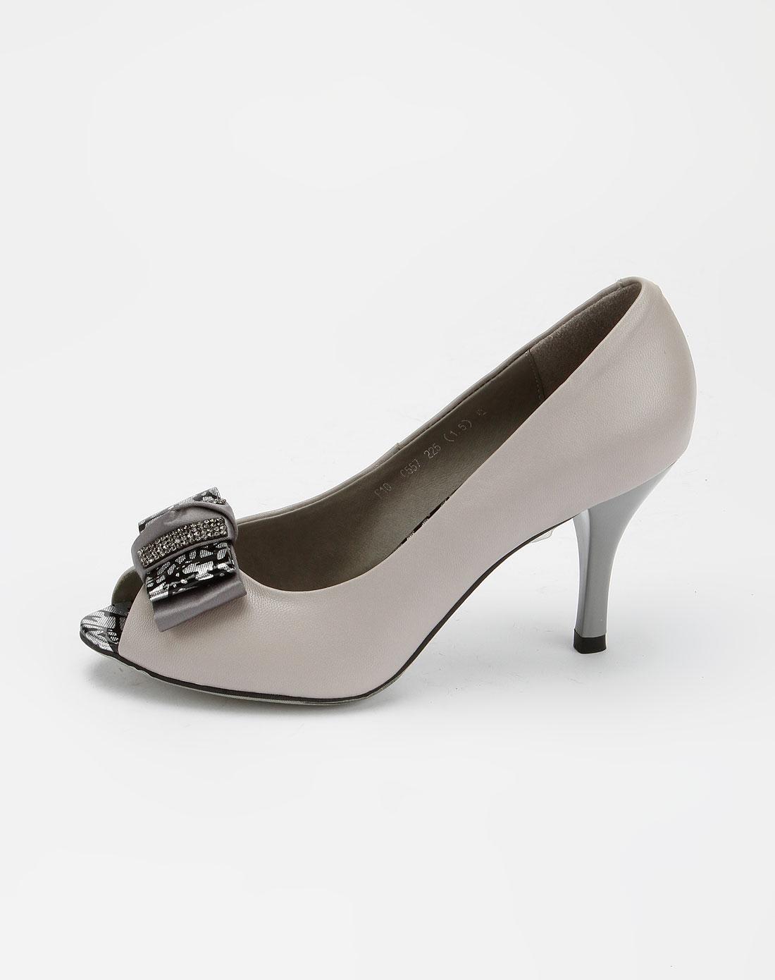 羊皮高跟鞋子f10