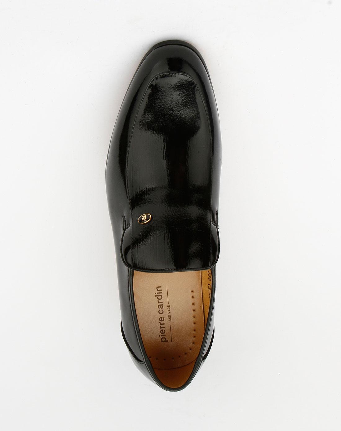 cardin-男装黑色时尚商务皮鞋