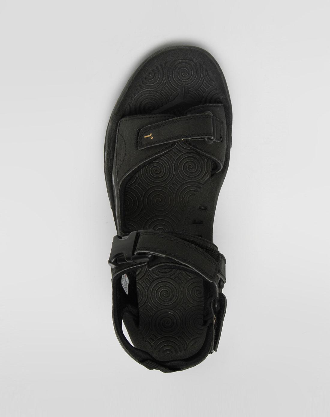 男款黑色户外沙滩鞋_361°官网特价1.7-3.3折