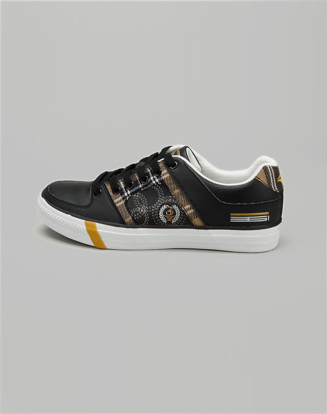 男款黑色帆布鞋_361°官网特价1.7-3.3折