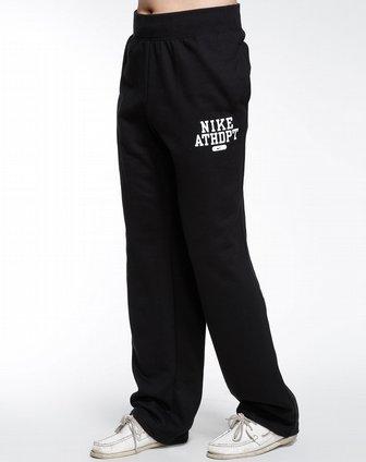 耐克nike黑色运动生活针织长裤455413-010