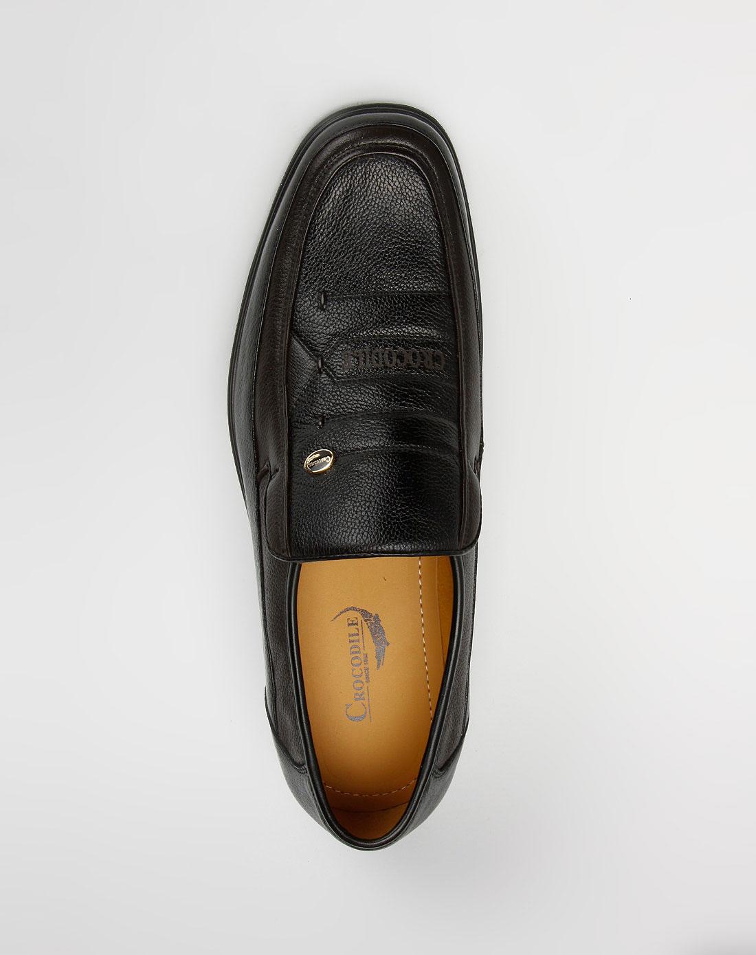 黑/棕色西装皮鞋_鳄鱼恤crocodile-鞋子专场特价1