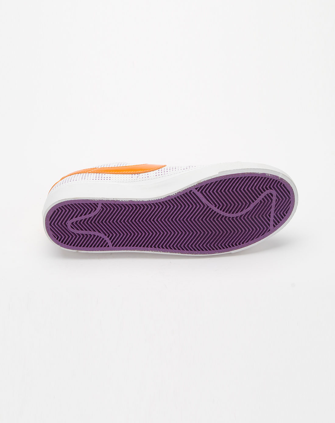 耐克nike女装专场-白/橙色时尚运动鞋