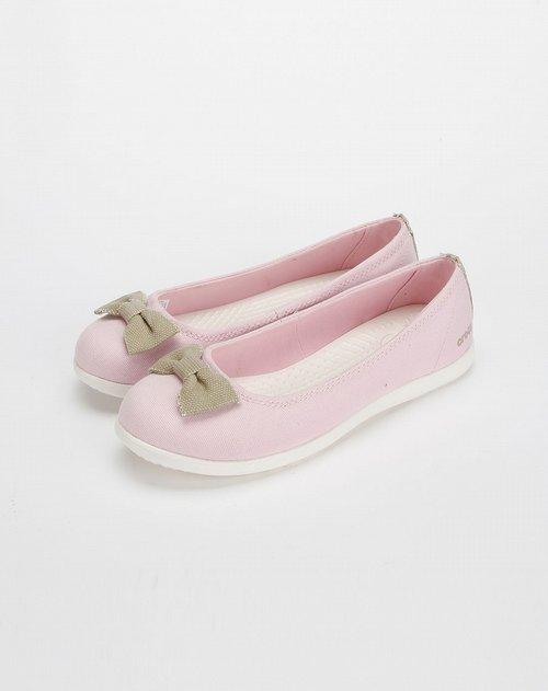 卡骆驰crocs女款淡粉色丝琦休闲女鞋
