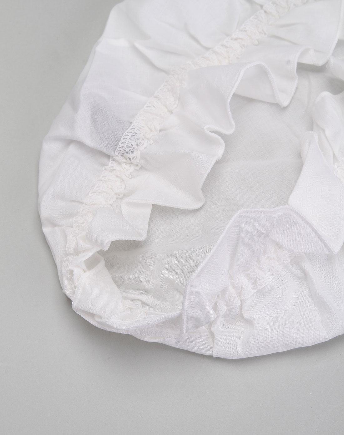 蔻夏尔corsetc内衣专场白色简约睡帽