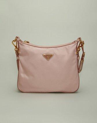 prada包包专场女款粉红色简约斜挎包bt0706opale