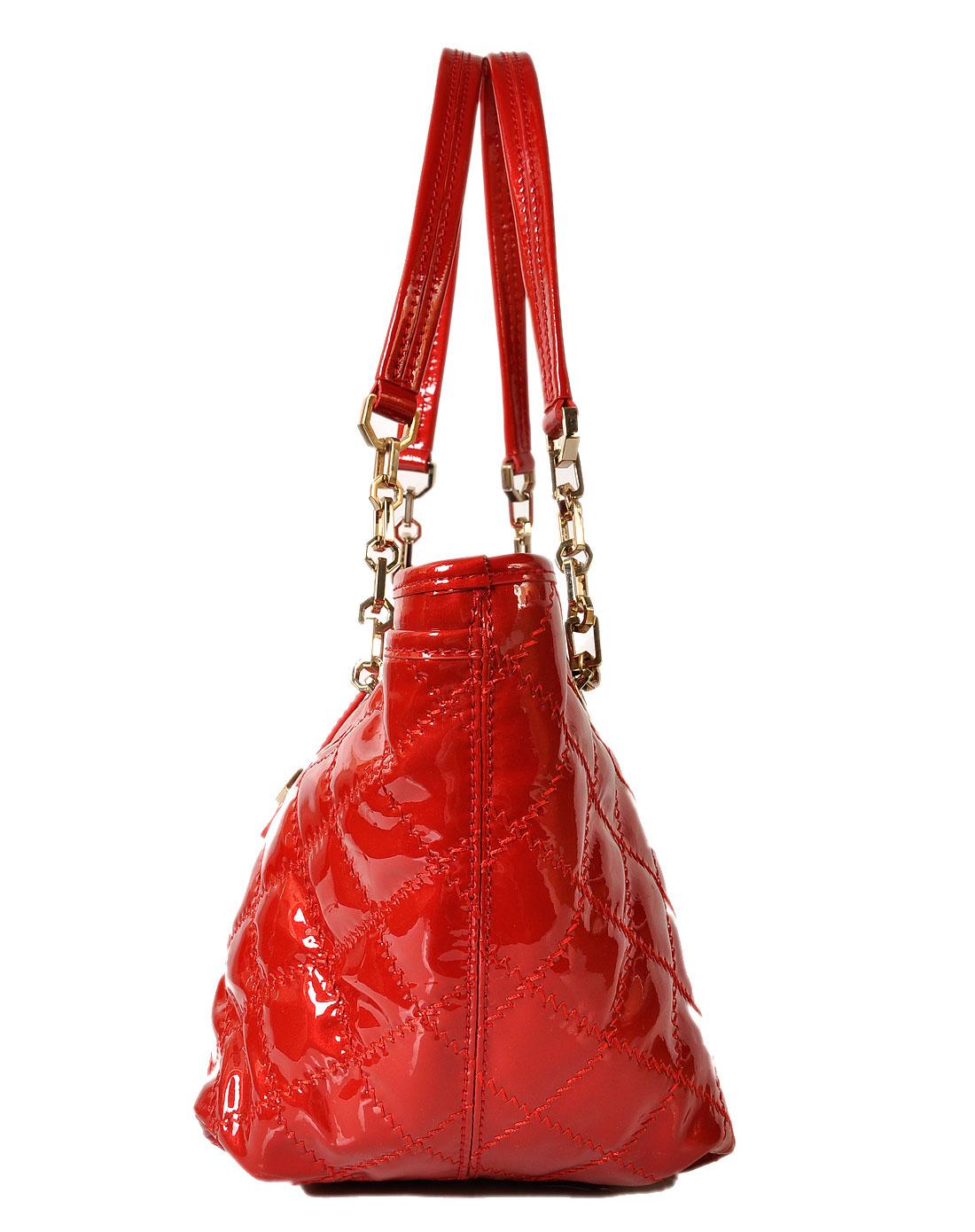 阿尔皮纳袋鼠女包红色手提包