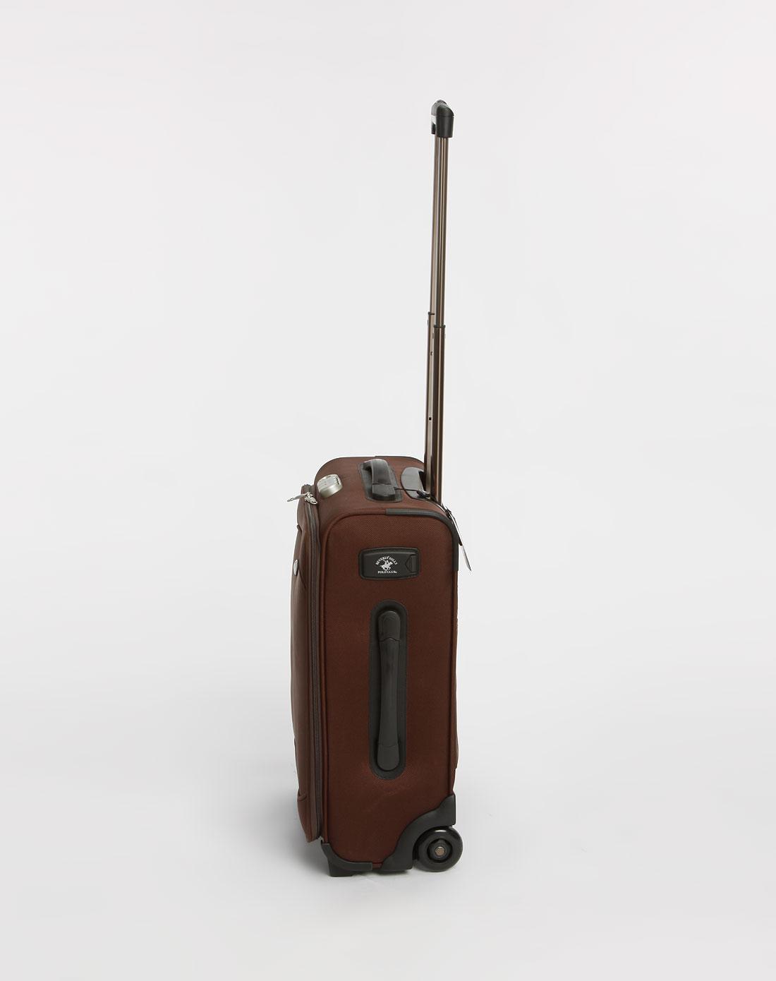 比华利保罗-褐色商务小拉杆箱