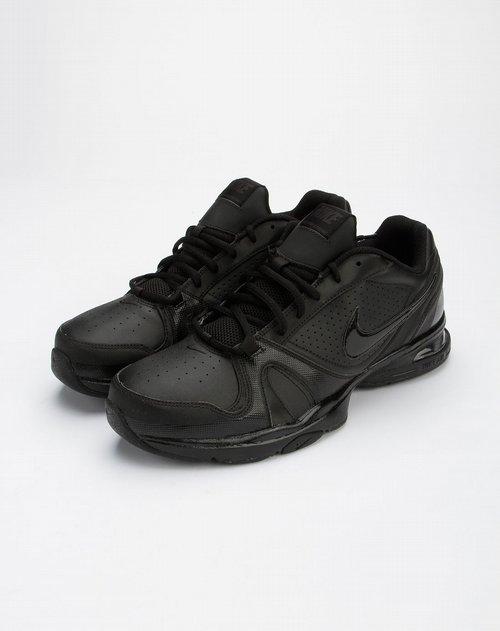 耐克nike-黑色休闲时尚绑带运动鞋