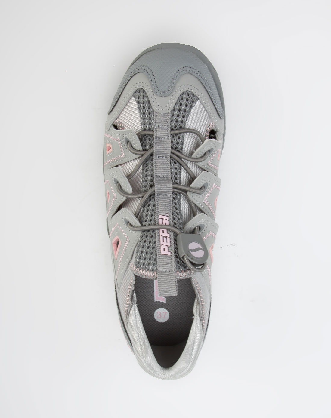百事pepsi深灰色运动鞋2
