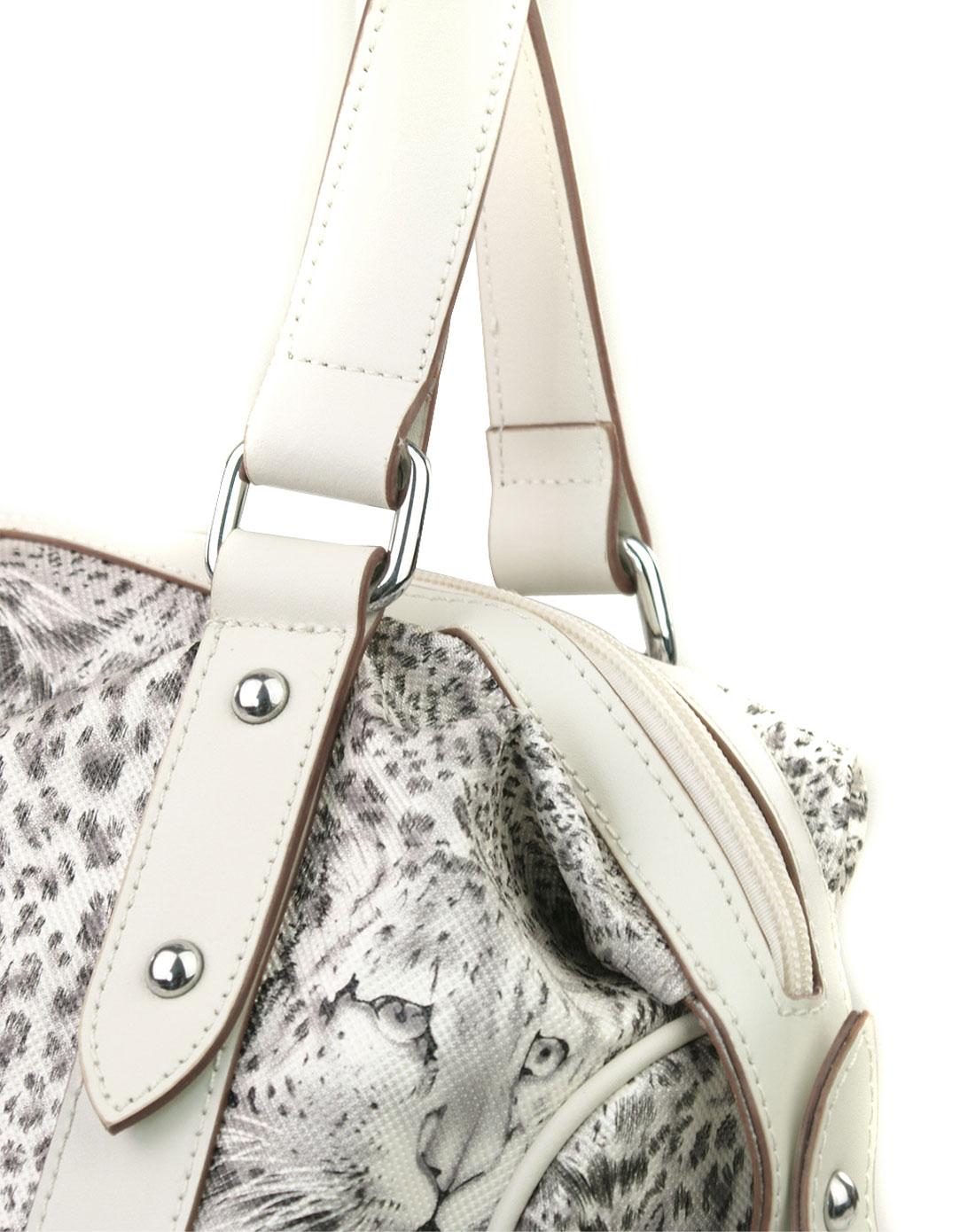 crocodile-女包女款白色包包