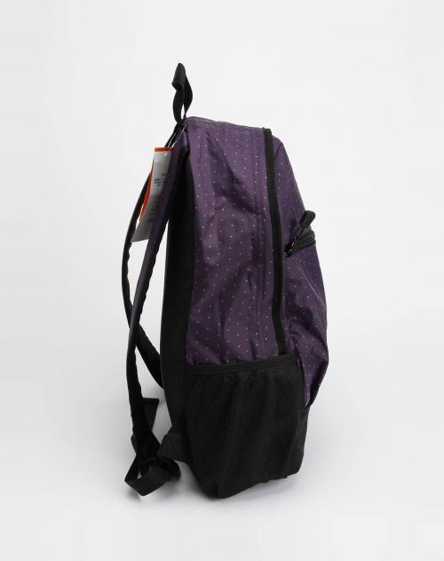 美特斯邦威女装紫色双肩背包