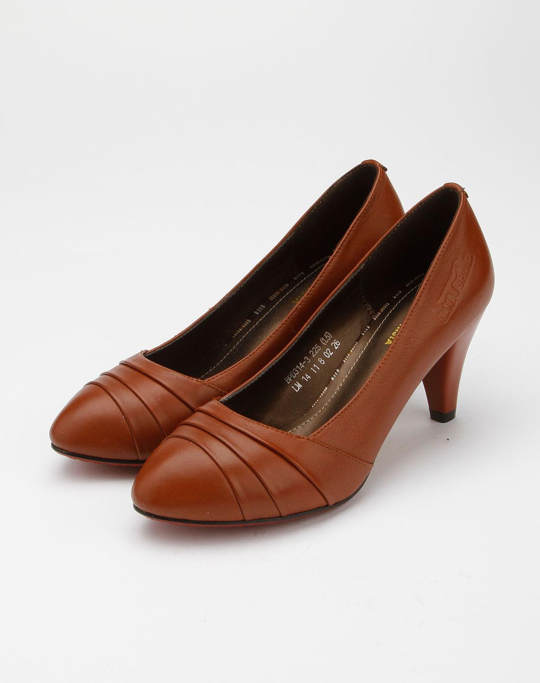 色休闲皮鞋bpd314