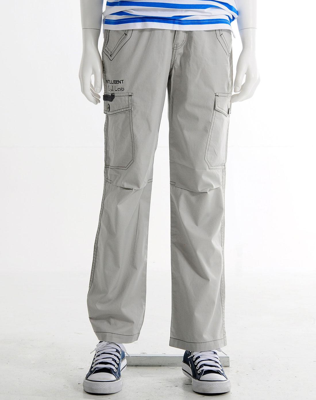 米色休闲裤10m1216ee
