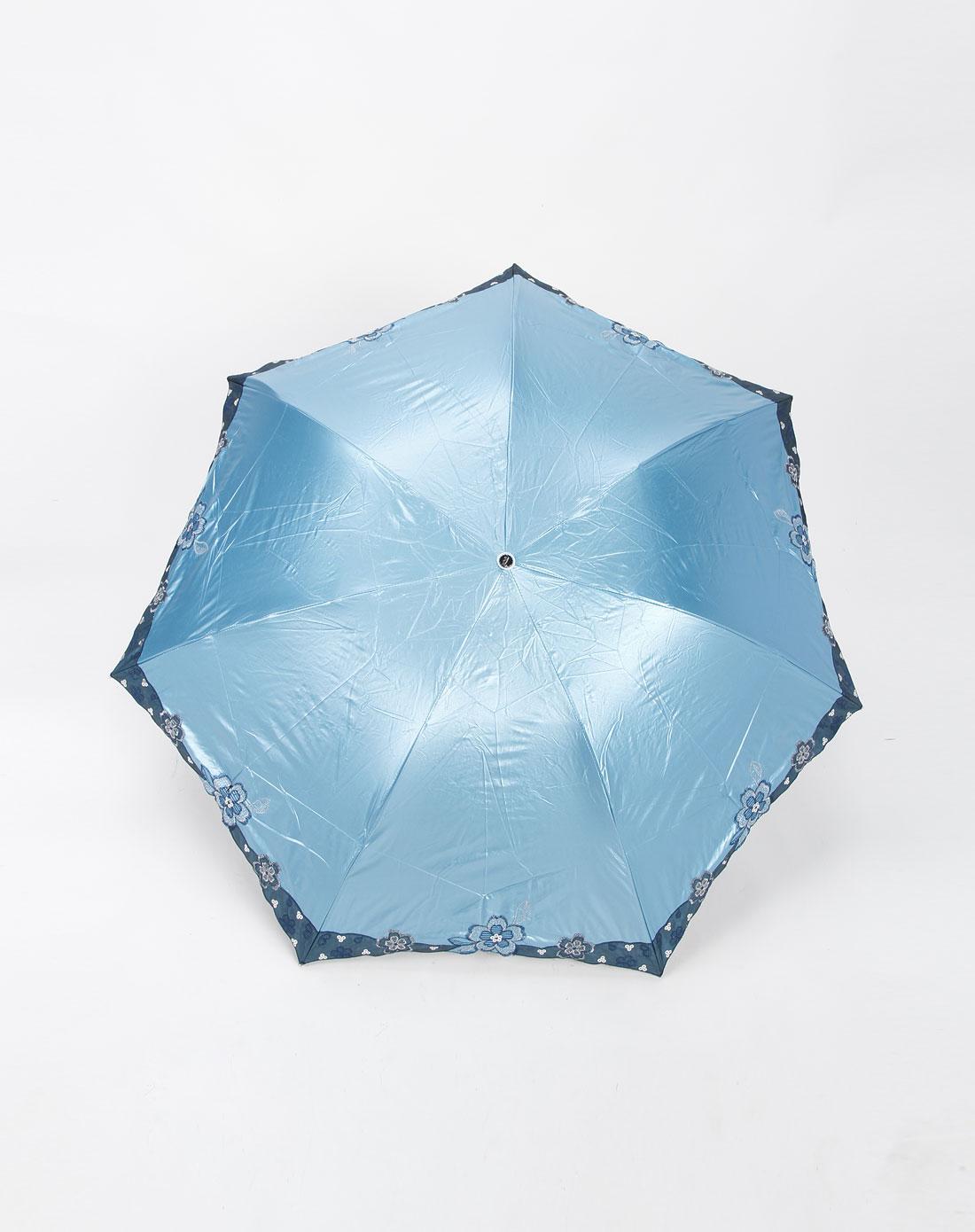 俯视的伞手绘