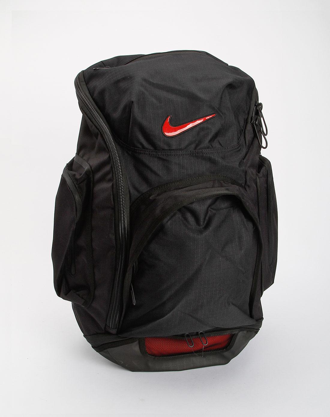 耐克nike-包包中性黑色篮球背包