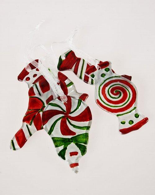 evergreen家居用品专场手绘糖果装饰挂件五件套