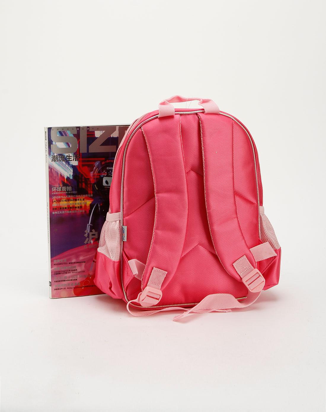 女童桃红色个性双肩包cc-m0426h