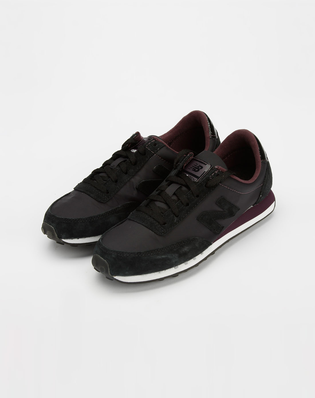 新百伦new balance-女款黑色休闲运动鞋