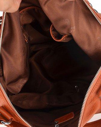 女款大包简约时尚_宾尼亚Banlear女款土黄色色简约时尚百搭大包