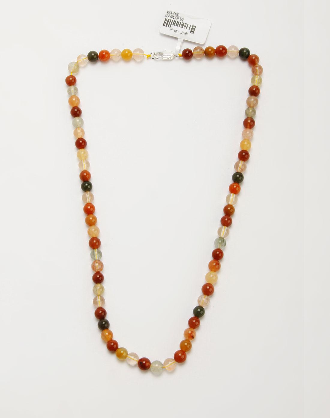 彩色时尚玛瑙项链