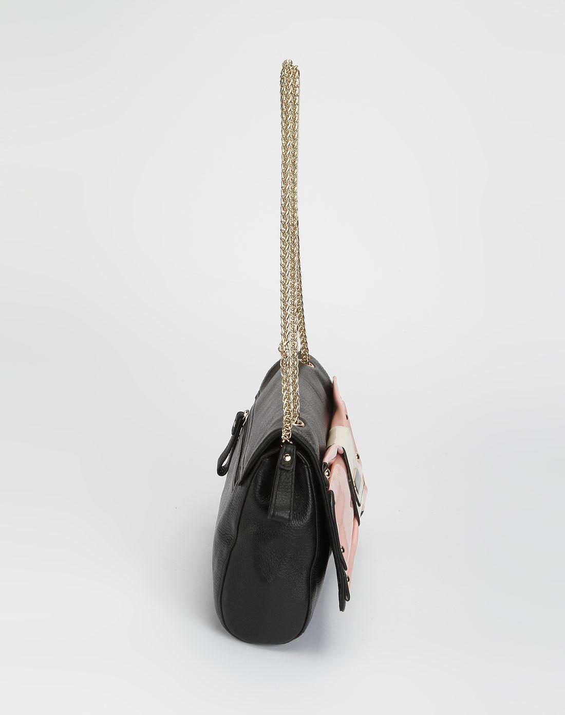 cat女款黑色时尚斜挎包