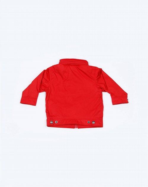 儿童红色长袖t恤