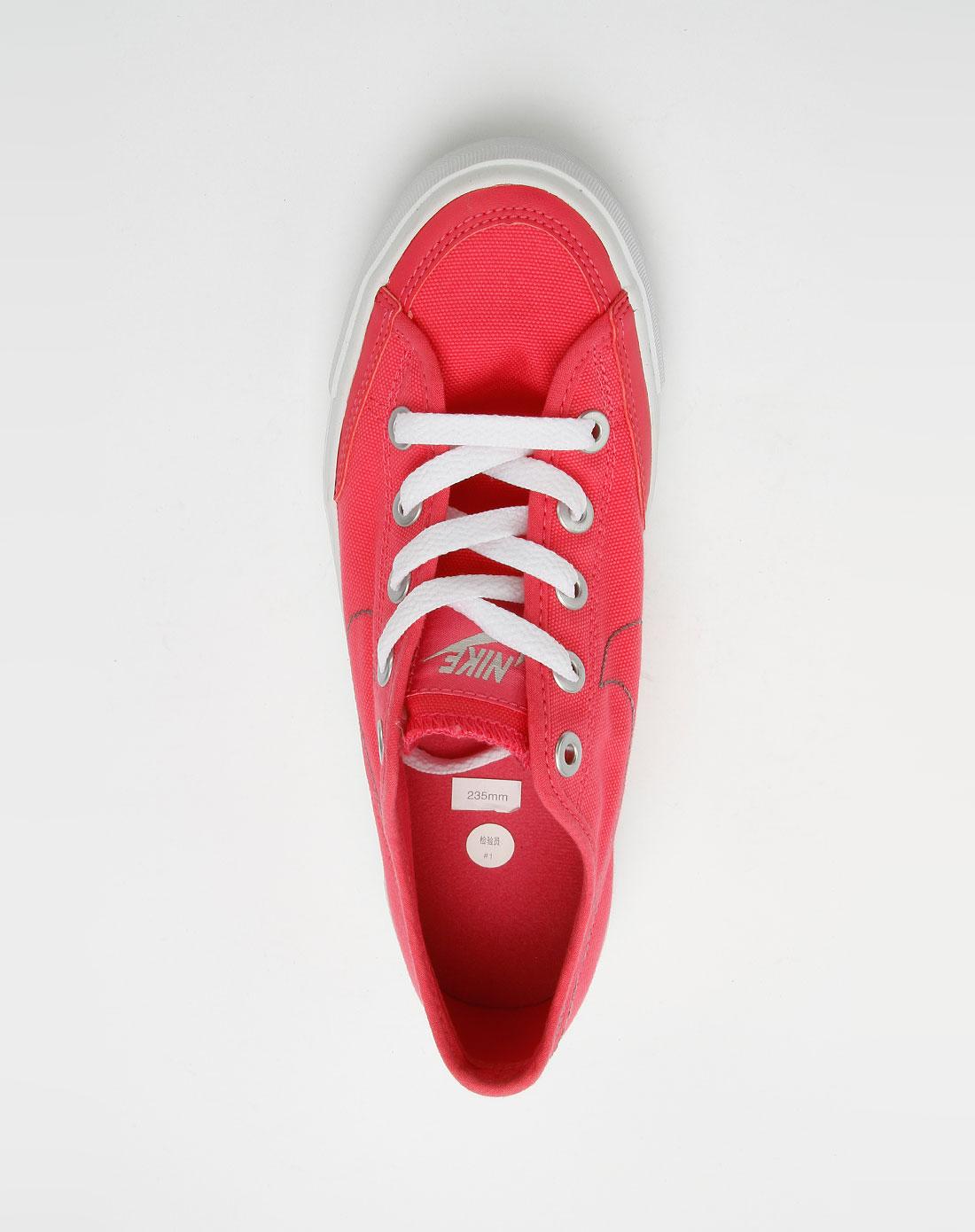 耐克nike火花红色时尚经典布鞋443928-600