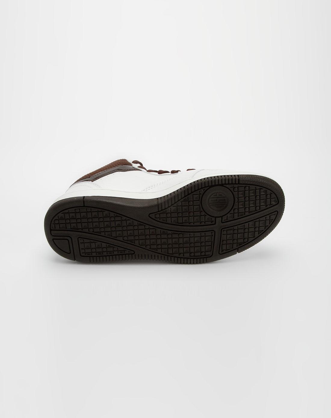 361°男款白色时尚简约运动鞋