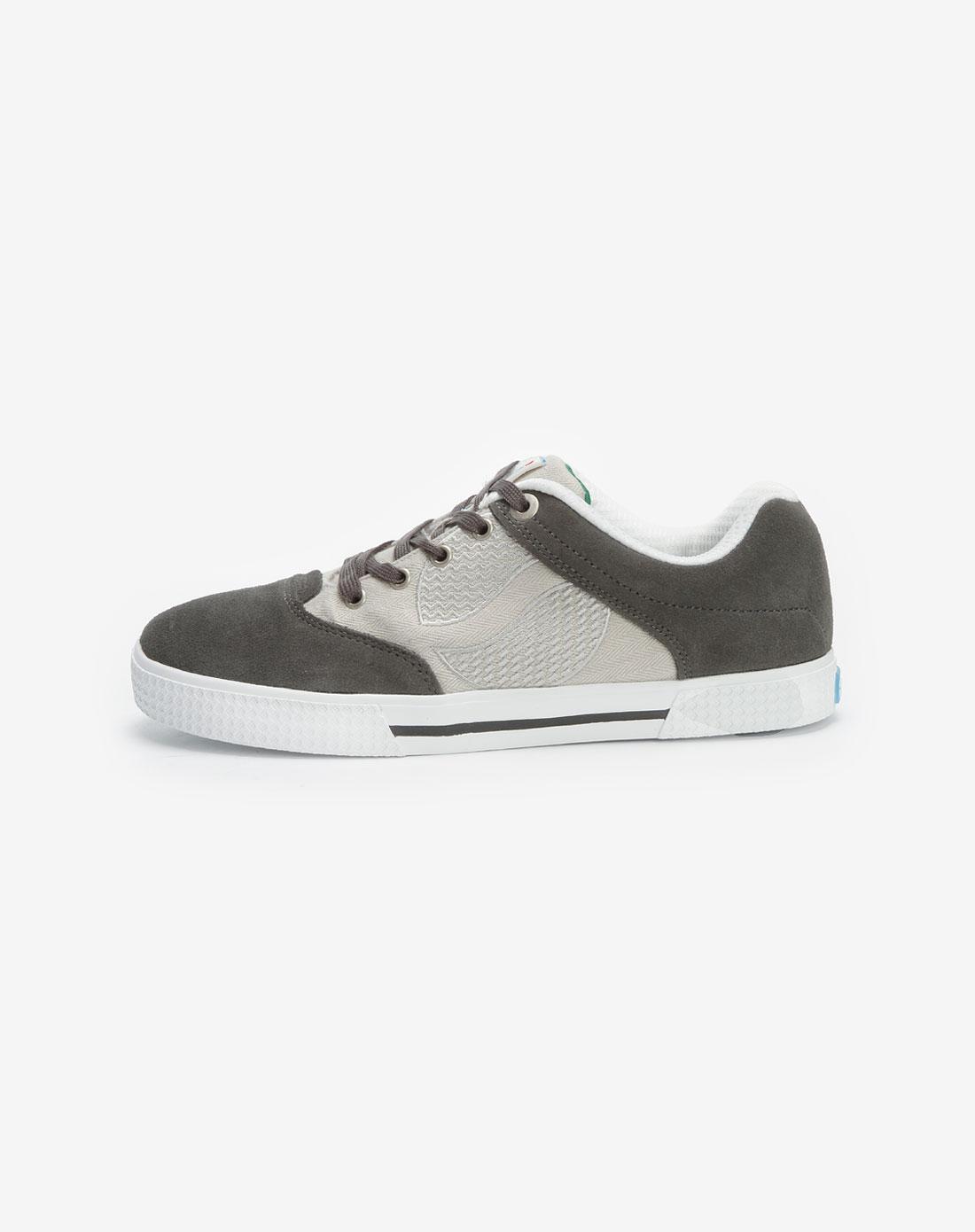 百事pepsi深灰/浅灰/白色运动鞋