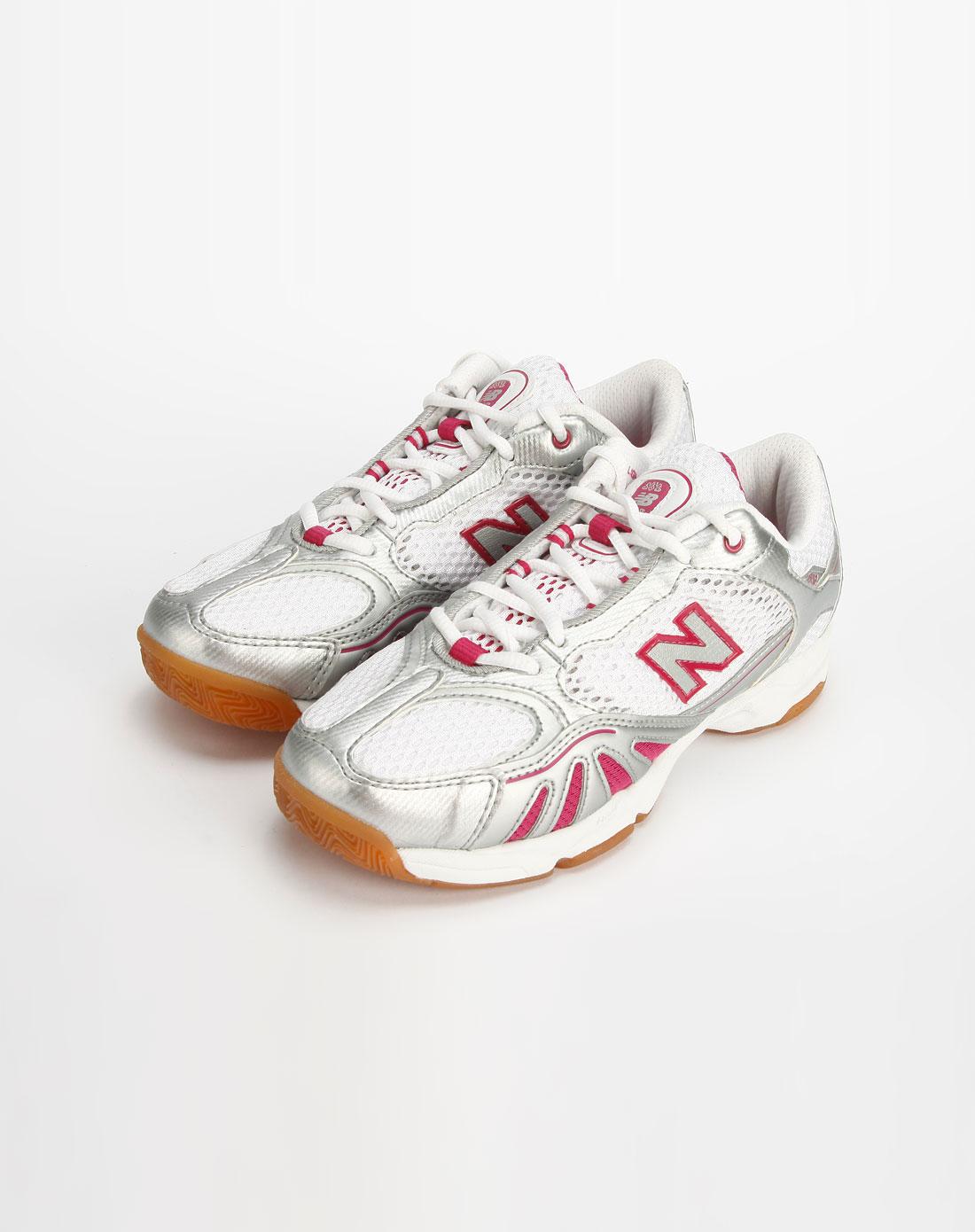 灰/白色室内运动鞋_new