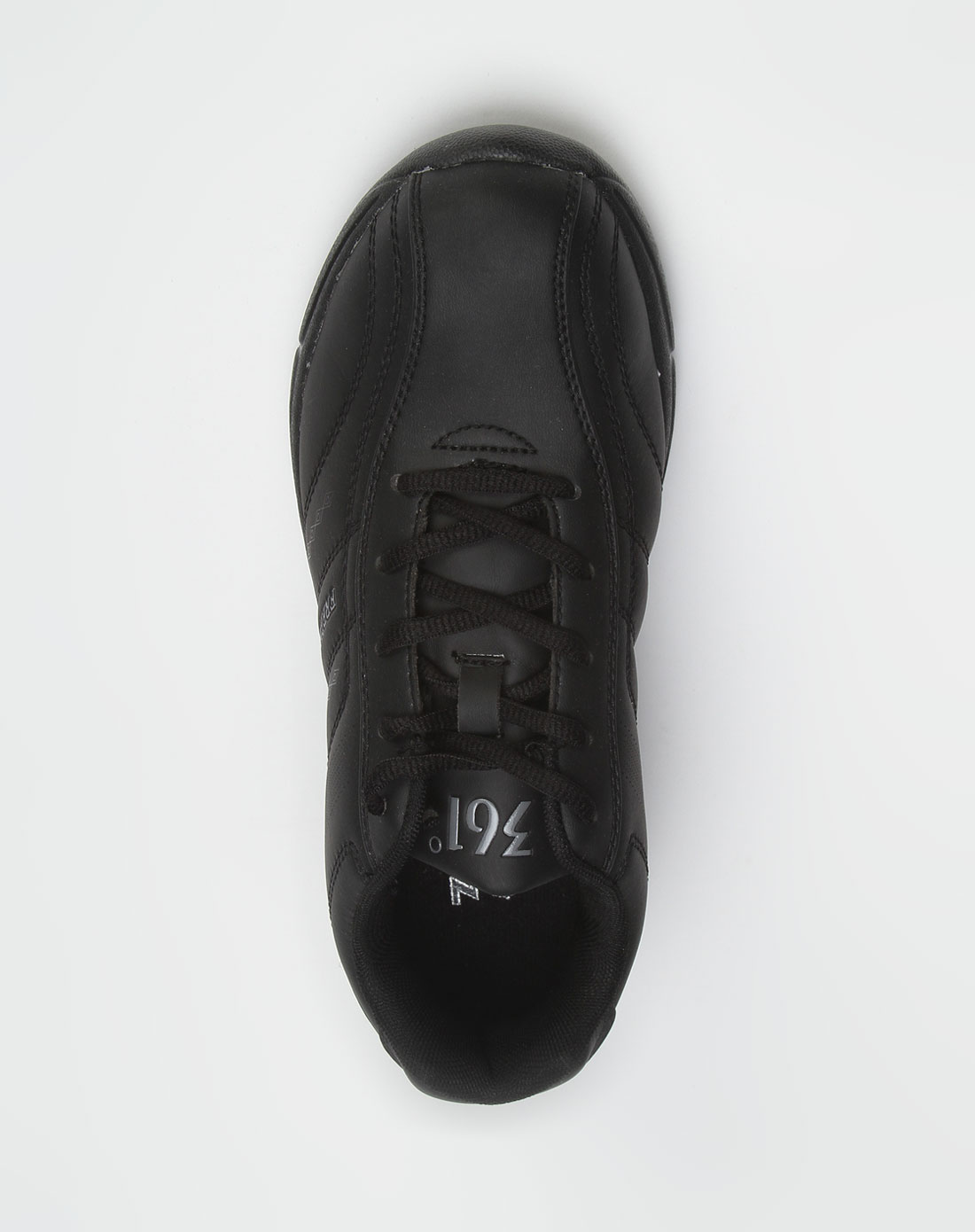 黑色简洁休闲运动鞋_361°官网特价2.3-3.5折