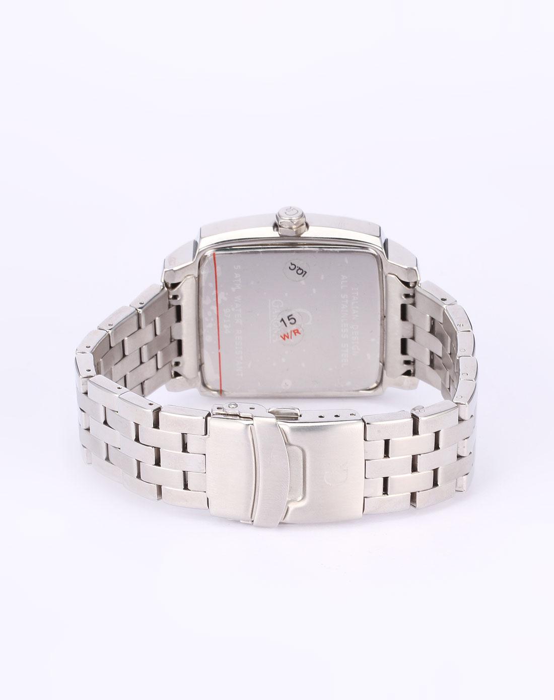 男款银 灰色方形时尚手表 GARONA ESPRIT GRUEN手表专场特价4.图片