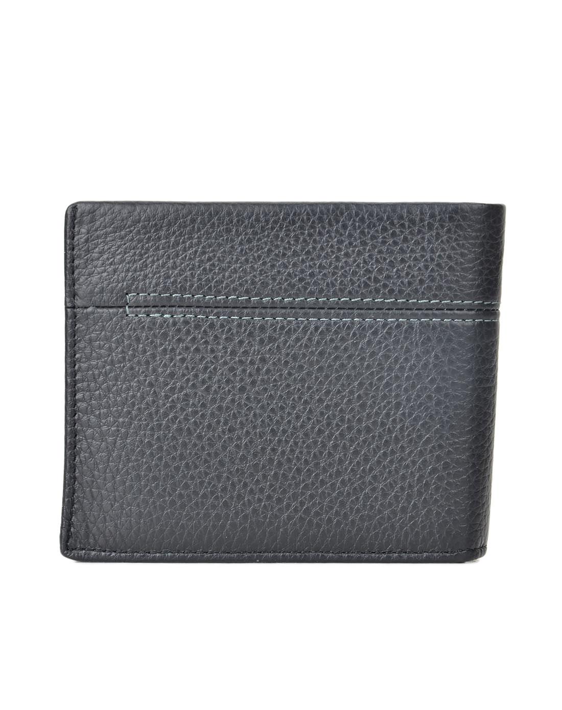 宾尼亚banlear黑色男士时尚钱包b82037-3-黑色