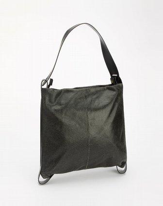 黑色裂纹时尚单肩包2 米度MIDO官网特价2.2图片