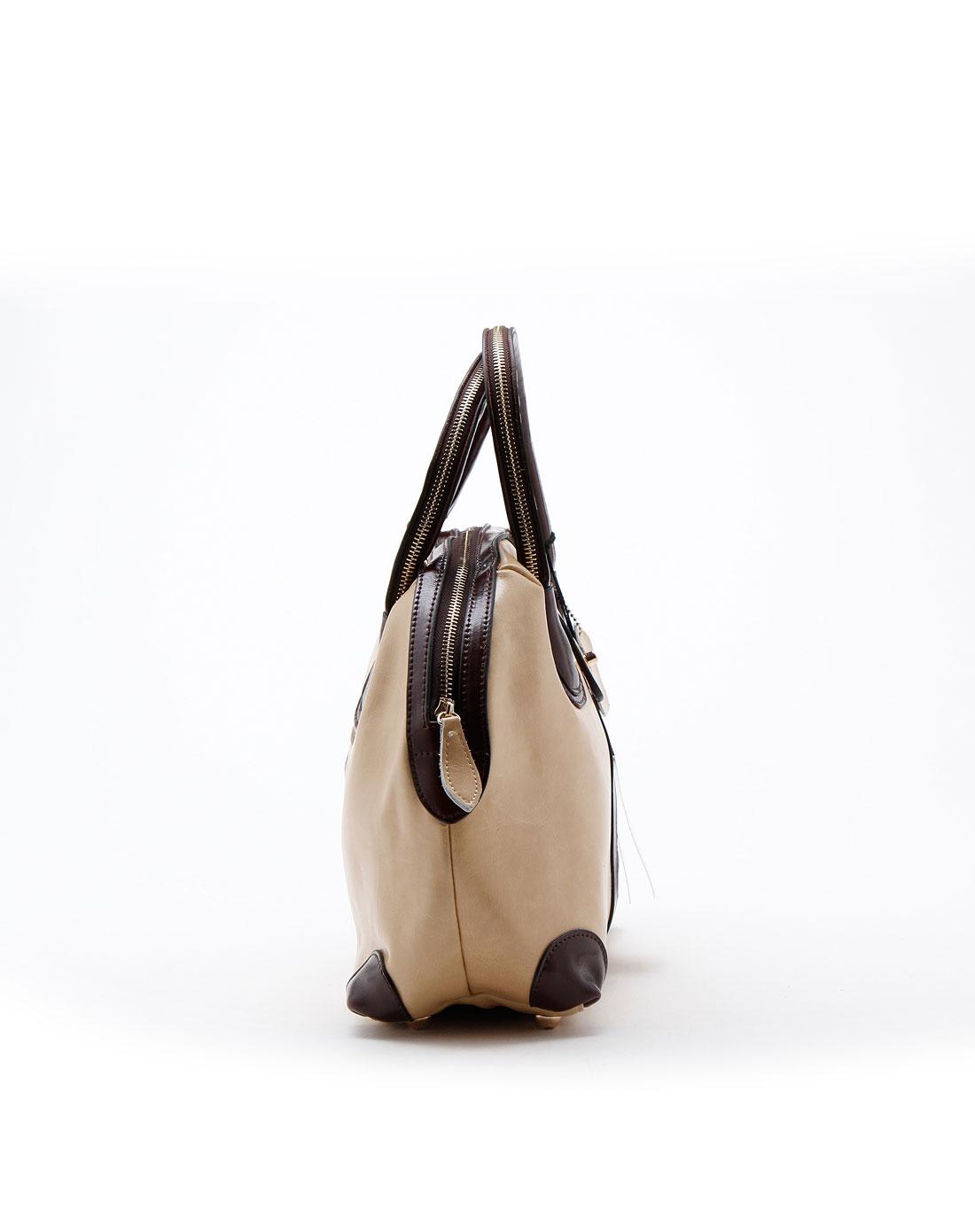 spade休闲米白色女士手提包q1957