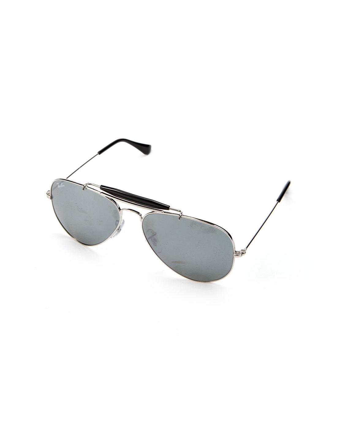 太阳眼镜专场雷朋rayban 银/深灰休闲太阳眼镜
